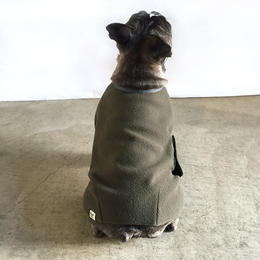 冬の家衣 (蓬色)/  Fleece  Body Warmer (Olive)