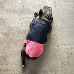 メッシュの羽織 (紺)/  Mesh Vest ( Navy )