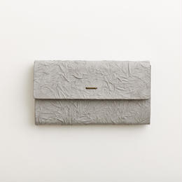 paper long wallet / gray