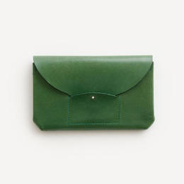 ric-rac long wallet / green