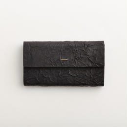 paper long wallet / black