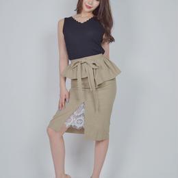 ペプラムスカート