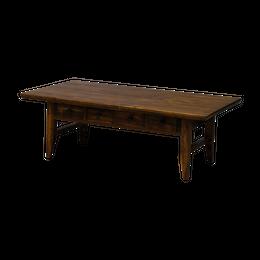 ゼフ センターテーブル 100(ミディアムブラウン) / ZEPH CENTER TABLE 100 (MBR)