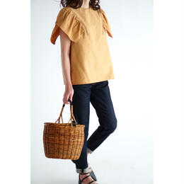 it / TULIP SLEEVES BLOUSE (CAMEL)