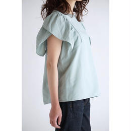 it / TULIP SLEEVES BLOUSE (MINT GREEN)