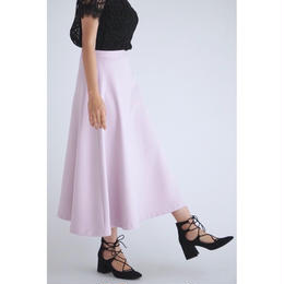 it / A LINE FLARE SKIRT (PINK)