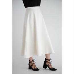it / A LINE FLARE SKIRT (IVORY)