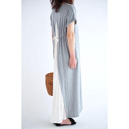 ◾︎再入荷リクエスト受付中◾︎it / BACK FLARE COTTON ONE PIECE (GREY)