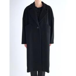 it / LONG CHESTER COAT (BLACK)