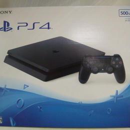 【中古】 PlayStation 4 ジェット・ブラック 500GB CUH-2000AB01 PS4 本体 メーカー生産終了 179-242sk