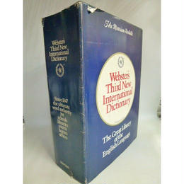 【中古】 Webster's Third New International Dictionary  Since 1847  Merriam    185-163SK
