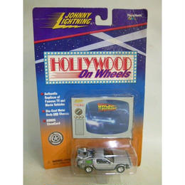 【中古】【未開封品】HOLLYWOOD On Wheels BACK TO THE FUTURE ミニカー 090733431011 186-213SK