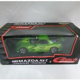 【中古】【開封品】 American Muscle  1/18 Diecast Eibach Springs 1993 Mazda RX-7  1610-337SK