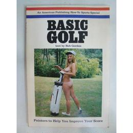 【中古】BASIC GOLF Bob Gordon 洋書 181-194SK