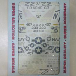 【中古】【代引不可】コルセア デカール A-7E Corsairs USN Lo Viz VA-56 VA-113 VA-195 SUPER SCALE INTERNATIONAL 189-214SK