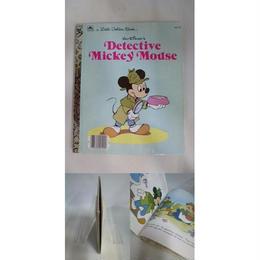 【中古】【洋書】 [代引不可]  Detective Mickey Mouse Walt Disney presents a Little Golden Book  175-101SK