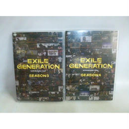 【中古】 [DVD] EXILE GENERATION SEASON3&4 セット  175-187SK
