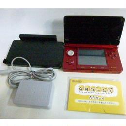 【中古】 シャア専用 ニンテンドー 3DS 本体 (箱・説・ソフトなし)  183-340SK