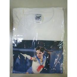 【中古】【未使用品】【代引不可】メドベージェワ 平昌 ロシア代表 Tシャツ XLサイズ 女子フィギア セーラームーン 1810-202SK