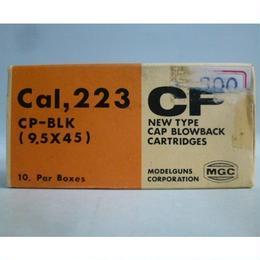 【中古】 MGC Cal,223 CP-BLK 9.5×45  CP カートリッジ モデルガン 10発入り  1710-262SK