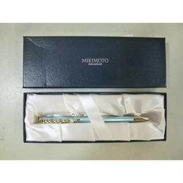 【中古】【未使用品】【代引不可】ミキモト MIKIMOTO ボールペン チェーンモチーフ 1810-29SK