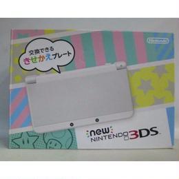 【中古】 New ニンテンドー 3DS ホワイト 充電器付き New 3DS 本体  179-372SK