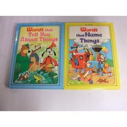 【中古】 ウォルト・ディズニー Words 4冊セット 1609-117SK
