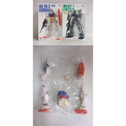 【中古】 ガンダムシリーズ DXハイスケールモデル ガンダム & ザク2 セット 183-203SK