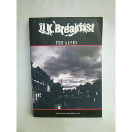 【中古】[代引不可] 【バンドスコア】 U.K.Breakfast / THE ALFEE    182-117SK