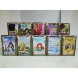 【中古】【未開封品】Qposket ディズニーキャラクター Disney Characters petit  10体セット バンプレスト 186-361SK