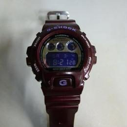 【中古】 G-SHOCK メタリックカラー ワインレッドDW-6900SB (本体のみ)  173-37SK