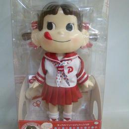 【中古】 あったかフリースジャケットつき ペコちゃん人形  176-352SK