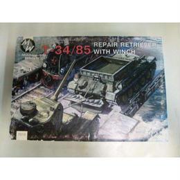 【中古】【未組立】 ミリタリーホイール 1/72 ソ連・T-34/85 戦車回収車 + ウインチ 183-127SK