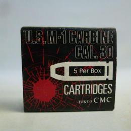 【中古】 CMC U.S.M-1 カートリッジ CAL.30 モデルガン 5発入り  1710-259SK