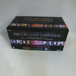 【中古】 THE ROYAL PHILHARMONIC  COLLECTION THE GREATEST COMPOSERS 50     186-388SK