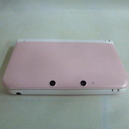 【中古】 NINTENDO 3DS LL ピンク×ホワイト 箱・説無 ニンテンドー 任天堂 185-487SK