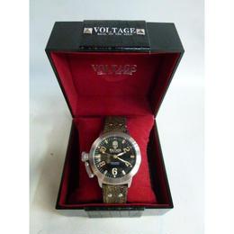 【中古】VOLTAGE 腕時計 VO-015S-02/BR 188-375SK