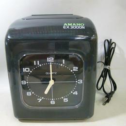 【中古】 アマノ 電子タイムレコーダー EX3000N     1810-25SK