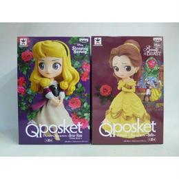 【中古】【未開封】 Q posket Disney Characters ベル & オーロラ姫 通常カラーセット 182-274SK