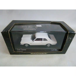 【中古】Ford Taunus 1970 Diamantweiss white 1/43 フォード MINICHAMPS 188-250SK