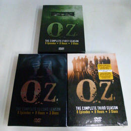 【中古】 Oz: Complete First Season ~Third Season セット  187-204SK