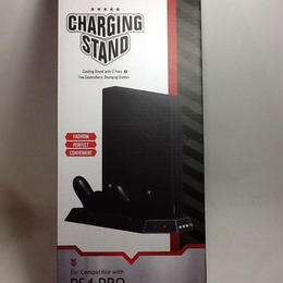 【中古】Charging stand with 2 fan for PS4 PRO ss1804-27