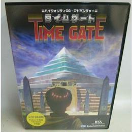 【中古】 TIME GATE タイムゲート PCソフト Windows95 CD-ROM  182-206SK