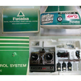 【中古】 [ジャンク品]    Futaba プロポ ラジコン用 ATTACK-4 FP-T4NBL/AM27         1712-304SK