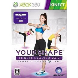 【中古】ユアシェイプ フィットネス・エボルブ 2012 XBOX360 ソフト 179-369SK