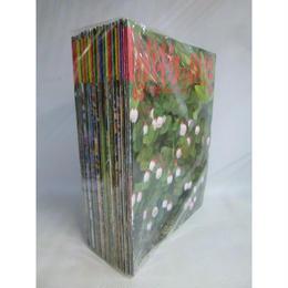 【中古】 週刊朝日百科 植物の世界 No.63~No.145 + キノコの世界5冊 セット 185-91SK