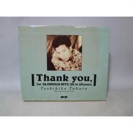 【中古】[カセットテープ] Thank you, for GLORIOUS HITS 36 in 10years   田原俊彦 1811-81AK
