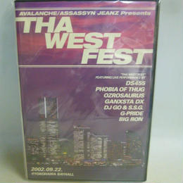 【中古】 [DVD] AVALANCHE/ASSASSYN JEANZ Presents THA WEST FEST 1184SK