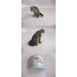 【中古】 フルタ&海洋堂 チョコエッグ 日本の動物コレクション 第5弾 シークレット1:イリオモテオオヤマネコ(グレー) 4867SK