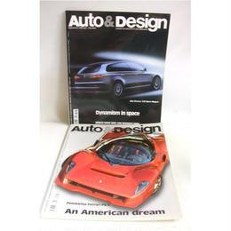 【中古】[代引不可]  【洋書・雑誌】Auto & Design  2冊セット 6299SK